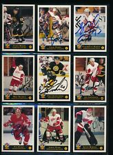 1994 Classic Hockey Pro Prospects hand Signed lot (14) cards autographs darby
