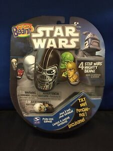 Star Wars Mighty Beanz 4 Pack