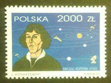 POLAND STAMPS MNH Fi3303 Sc3158 Mi3451 - Copernicus, 1993, clean