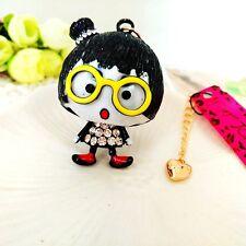 Betsey Johnson Little girl Pendants chain Sweater chain necklace KK269