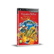 Geronimo Stilton regreso al Reino de la Fantasia para Sony PSP usado completo