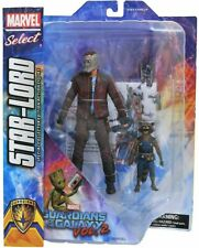 Marvel Select Guardians of the Galaxy 2 Star-Lord & Rocket Raccoon Action Figure