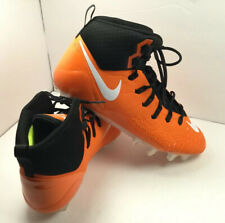 Nike Force Savage Pro Men's Football Cleats Size 17 Orange and Black 880144-810