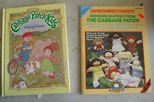 Vintage 1984 Cabbage Patch Kids Book and Clothes Pattern Book