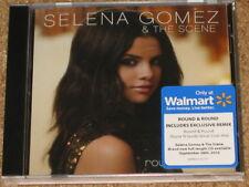 SELENA GOMEZ - Round & Round - WALMART Pre-Sale CD w/ EXCLUSIVE REMIX! RARE! OOP