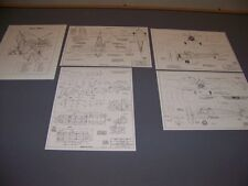 VINTAGE..WACO YMF-5, UMF-5, UPF-7, YKS-6..4-VIEWS/SPECS/DETAILS...RARE! (902A)