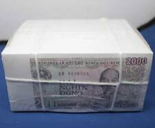 1000 Pcs 2000 Dong Vietnam Paper Money Banknote UNC Asia Currency Collection