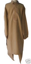 SHALWAR KAMEEZ SALWAR pakistani afghan islamic clothing beige brown mens pashtun