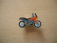 Pin Anstecker KTM 990 Adventure Modell 2007 orange Motorrad Art. 1032 Motorbike
