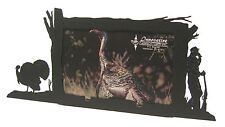 "Turkey Hunt Hunting Picture Frame 4""x6"" H"