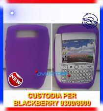 Custodia Cover Silicone VIOLA per Blackberry 8900 9300