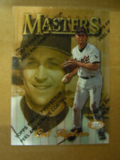 1997 Topps Finest Cal Ripken Jr.RARE MASTERS w/Peel off Coating Film # 334-M1