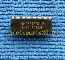 5pcs SN74LS283N PDIP-16 4 BIT BINARY FULL ADDERS WITH FAST CARRY