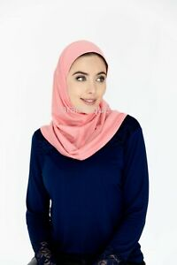 One Piece Amira Hijab - Adult size - Cotton/Polyester Blend