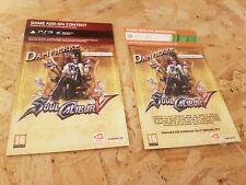 Soul Calibur V dlc Content Dampierre PS3 Xbox 360