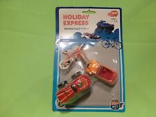 DICKIE 5075 HOLIDAY EXPRESS VW BEETLE CABRIOLET + CHEVROLET -GOOD ON CARDBLISTER
