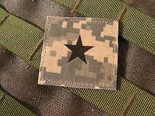 Galons US - GENERAL - grade scratch ACU DIGITAL rank insignia SNAKE PATCH