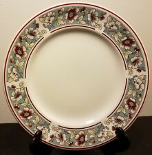 "Johnson Brothers MALVERN Salad plate, 7 7/8"", Blue, Floral, Excellent"