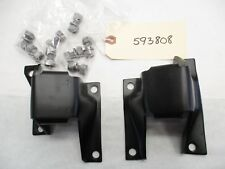 1959 1960 Chevy V-8 V8  Motor Engine Mounts L&R OEM