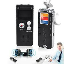 8GB Spion Mini USB Digital Audio Voice Recorder 650Hr Diktiergerät Mp3-player