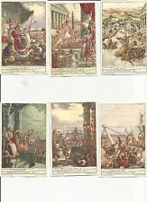 ITALY Liebig trading cards  S1473 F1472 The Holy Year and Its Origin I L'ANNO SA