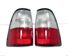 PAIR OF TAIL LIGHTS / TAIL LAMPS HOLDEN TF RODEO 99-02 UTE ISUZU PICKUP 1999 01