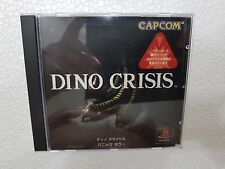 PSX SONY PLAYSTATION JAP NTSC DINO CRISIS - CAPCOM - WSPINE