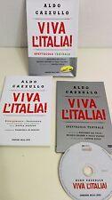 VIVA L'ITALIA! Spettacolo teatrale LIBRO + DVD con BOX - ALDO CAZZULLO
