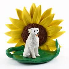 Kuvasz Sunflower Figurine