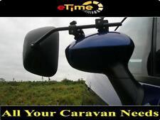 2 x Milenco Grand Aero 3 Extra Wide Flat Glass Caravan Towing Mirrors (1 Pair)