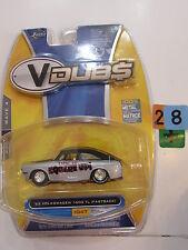 JADA TOYS 2007 V DUB$ WAVE 4 - '69 VOLKSWAGEN 1600 TL (FASTBACK) #047