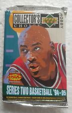 1 x UPPER DECK COLLECTORS CHOICE 1994-95 Packet NBA Basketball Cards (Series 2)