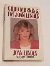 JOAN LUNDEN SIGNED Good Morning, I'm Joan Lunden 1986 BOOK  ABC America Lifetime