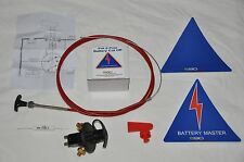 590 FIA spec 6 pole Battery isolator and Pull cable kit. Drag, Drift, Race