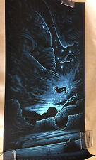 """""""LV-223"""" By Dan Mumford Limited Edition of 50 Approximately18"""" x 36"""" Rare Sold *"""