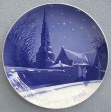 Bing & Grondahl 1908 Christmas Plate B&G St. Petri Church of Copenhagen