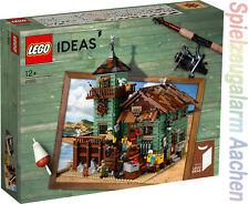 LEGO ® Ideas 21310 Alter Angelladen Old Fishing Store Design Modell Super RAR