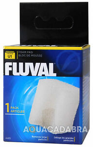 Fluval U1 Sponge Foam Genuine Internal Replacement Filter Pad Media Fish Tank