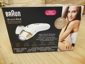 Braun IPL Hair Removal for Women, Silk Expert Pro 5 PL5137 NEW IN BOX!!!