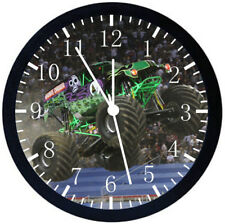 Big Truck Black Frame Wall Clock Nice For Decor or Gifts E128