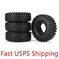 """4Pcs Ax-6020 1.9"""" 115mm Tires Tyres for 1/10 D90 SCX10 CC01 RC Rock Crawler"""