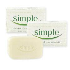 12 x SIMPLE PURE SOAP BAR FOR SENSITIVE SKIN - VALUE FOR MONEY BARGAIN 125G