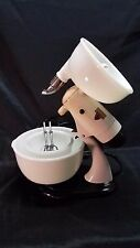 1950s Sunbeam Mixmaster Model 7B 10 Speed Mixer Orig Bowls & Beaters Juicer