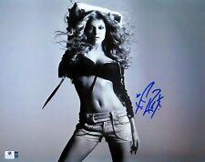 Fergie Signed Autographed 11X14 Photo Black-Eyed Peas Sexy Gorgeous B/W Gv809531