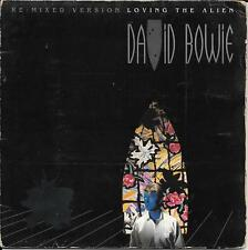 "45 TOURS / 7"" SINGLE GATEFOLD--DAVID BOWIE--LOVING THE ALIEN--1984 ""UK PRESS"""