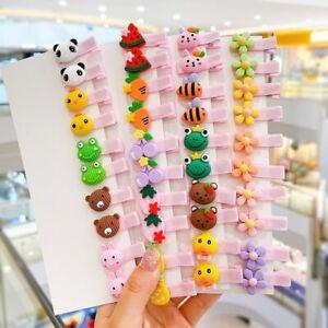 Pack 5, Baby hair clips, little girl cute designs