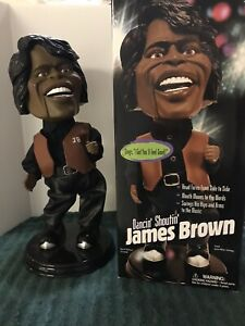 Dancin Shoutin Singing James Brown Electronic Animated Toy by Gemmy