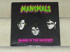 "MANIMALS-""Blood Is The Harvest"":  SEALED Misfits/Kiss/punk/heavy metal hybrid LP"
