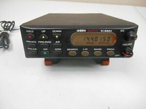Uniden Bearcat Model BC350A Police Fire Air Scanner