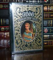 Grimm's Fairy Tales Illustrated New Sealed Leather Bound Deluxe Collectible Rare